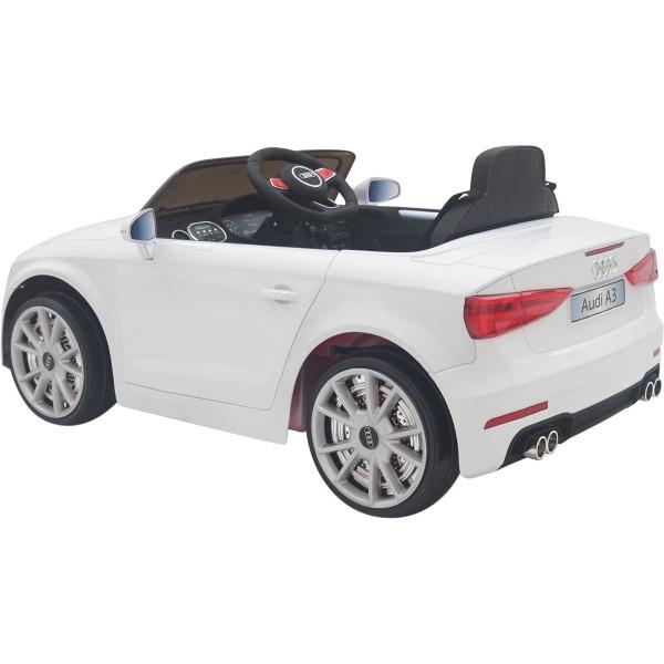 Ηλεκτρικό αυτοκίνητο αυθεντικό Audi A3 12v λευκό 99-603