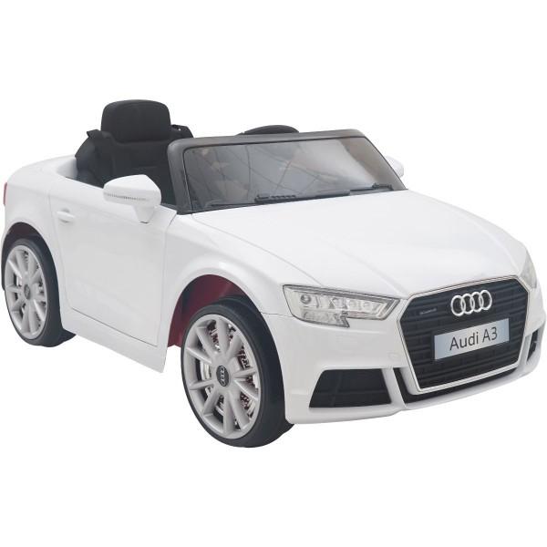 Ηλεκτρικο Αυτοκινητο Αυθεντικο Audi A3 12v Ασπρο 99-603