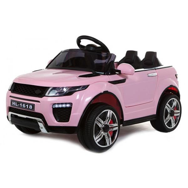 Ηλεκτρικό αυτοκίνητο τύπου land rover 12v ροζ - 99-604