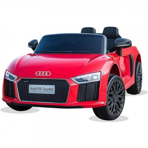 Ηλεκτρικο Αυτοκινητο Αυθεντικο Audi R8 12v Κοκκινο - 99-608