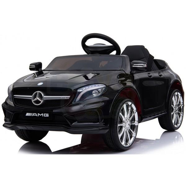 Ηλεκτρικο Αυτοκινητο Αυθεντικο Mercedes Benz GLA 45 AMG 12v Μαυρο - 99-645