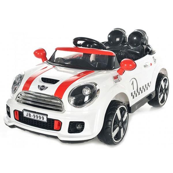 Ηλεκτρικο Αυτοκινητο Τυπου Mini Cooper 12v Aσπρο - 9999