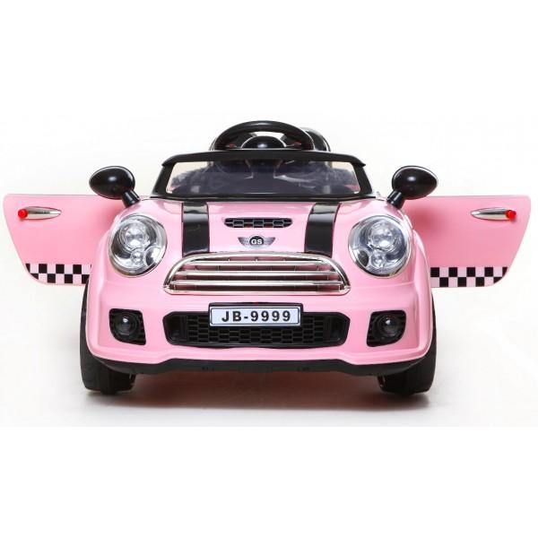 Ηλεκτρικο Αυτοκινητο Τυπου Mini Cooper 12v Ροζ - 9999