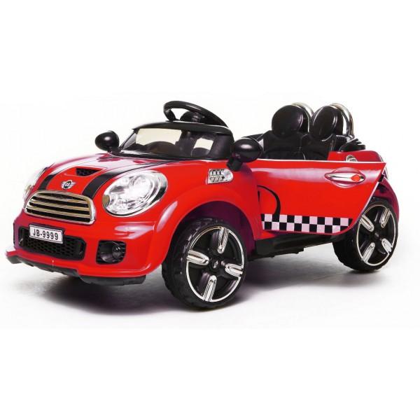 Ηλεκτρικό αυτοκίνητο τύπου mini cooper 12v κόκκινο - 9999