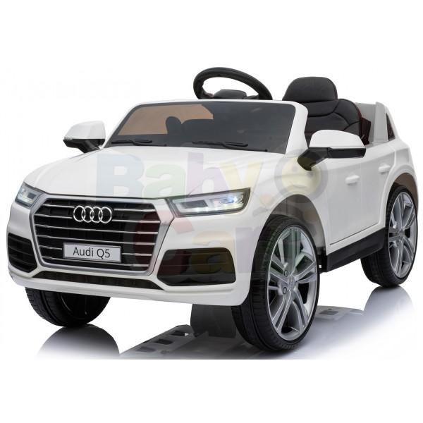 Ηλεκτρικο Αυτοκινητο Αυθεντικο Audi Q5 12v Ασπρο - 99-705