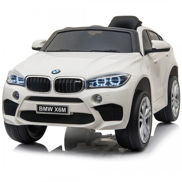 Ηλεκτρικο Αυτοκινητο Αυθεντικο BMW X6 12V Ασπρο - 99-706