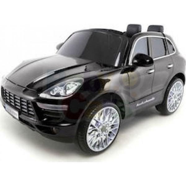 Ηλεκτρικο Αυτοκινητο Τυπου Porsche Macan 12v Μαυρο - 99-720