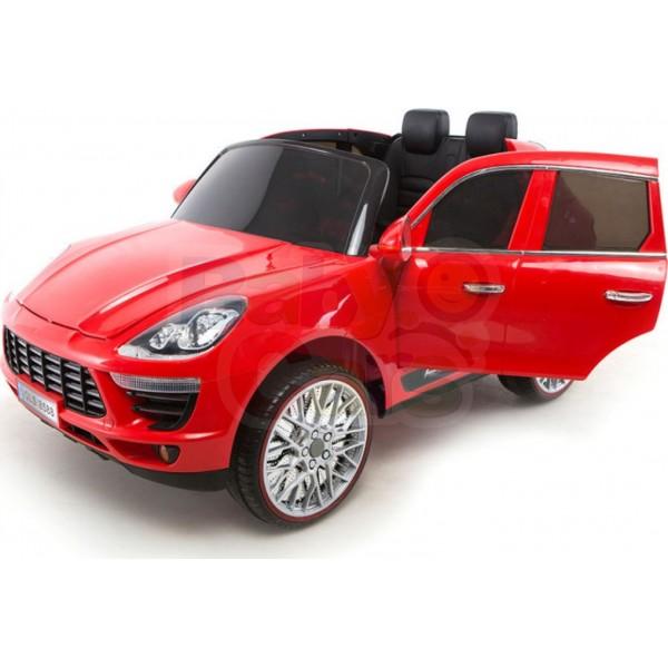 Ηλεκτρικο Αυτοκινητο Τυπου Porsche Macan 12v Κοκκινο - 99-720