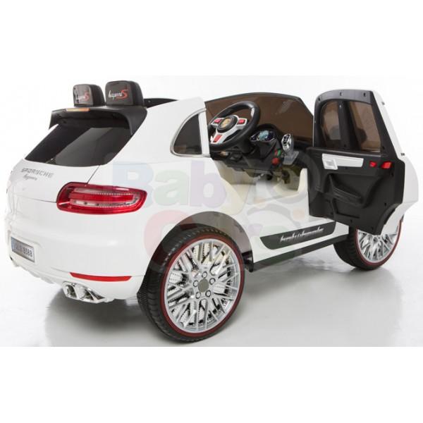 Ηλεκτρικό αυτοκίνητο τύπου porsche macan 12v άσπρο - 99-720