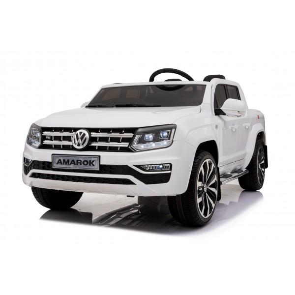 Ηλεκτρικο Αυτοκινητο Αυθεντικο Volkswagen Amarok 12v Ασπρο 99-829