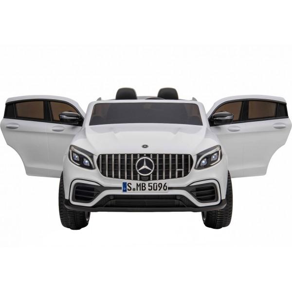 Ηλεκτρικο Αυτοκινητο Αυθεντικο Mercedes Benz GLC 63s 12v Ασπρο 99-863