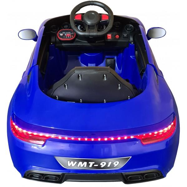 Ηλεκτρικο Αυτοκινητο Τυπου Porsche 6V Μπλε - WMT-919