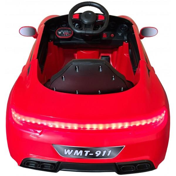 Ηλεκτρικο Αυτοκινητο Τυπου Porsche 6V Κοκκινο - WMT-919