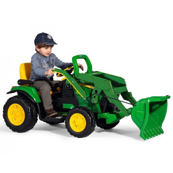 Παιδικό Τρακτέρ John Deere Ground Loader 12V Peg Perego - OR0068