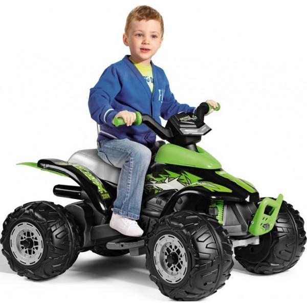Παιδική Γουρούνα Corral T-Rex 12V 330W Peg Perego Πράσινη - OR0100