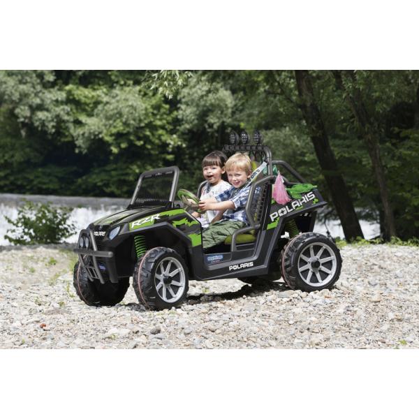 Παιδικό Αμάξι Polaris Ranger Rzr 24V Peg Perego Green Shadow - OD0534