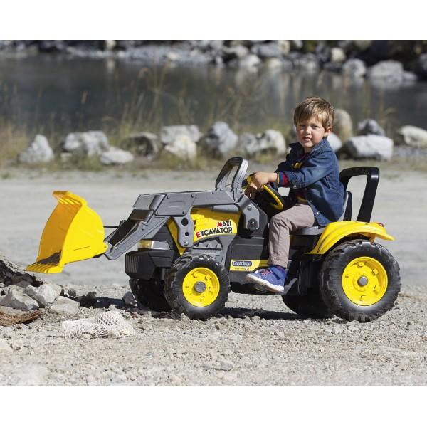 Πεταλοκίνητος Εκσκαφέας Peg Perego Maxi Excavator - CD0552