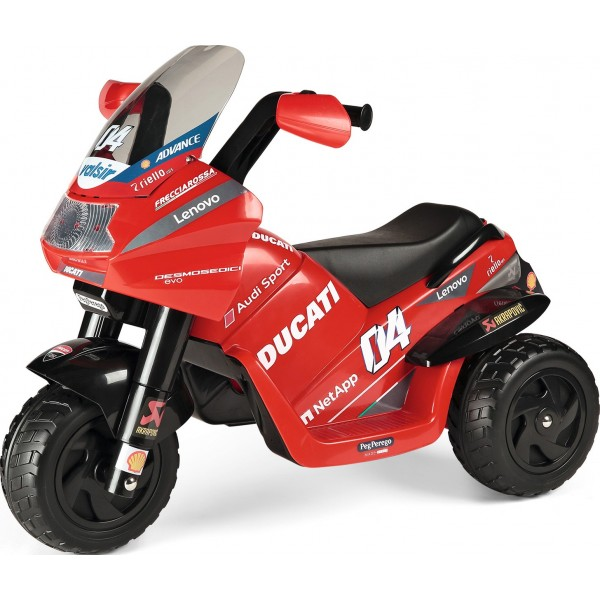 Παιδική Μηχανή Αυθεντική Ducati Desmosedici Evo 6V Peg Perego - ED0922