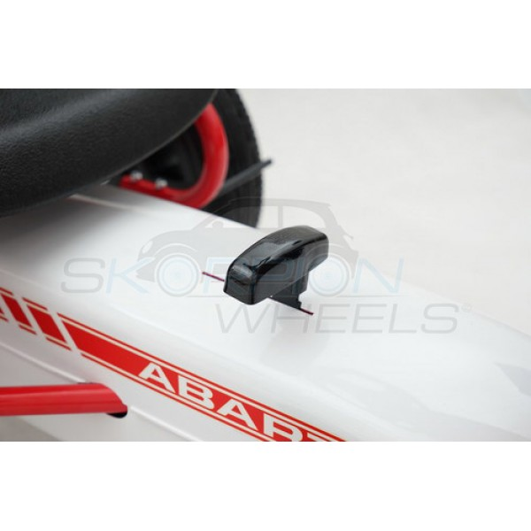 Πεταλοκίνητο Kart Αυθεντικό Fiat Abarth Skorpion Wheels Άσπρο - 5243030
