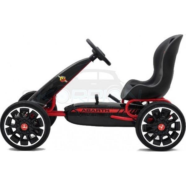 Πεταλοκίνητο Kart Αυθεντικό Fiat Abarth Skorpion Wheels Μαύρο - 5243030