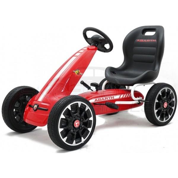 Πεταλοκίνητο Kart Αυθεντικό Fiat Abarth Skorpion Wheels Κόκκινο - 5243030