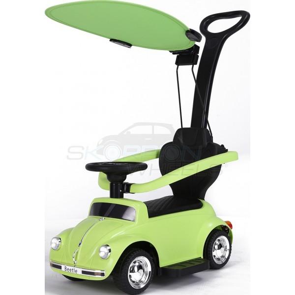 Περπατούρα VW Beetle Με Λαβή Γονέα Και Τέντα Skorpion Πράσινο - 5244018