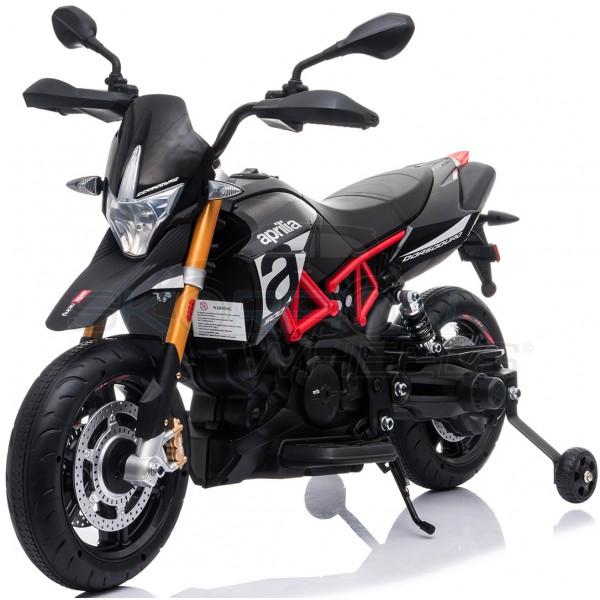 Ηλεκτρικη Μηχανη Aprilia Dorsoduro 900 12V Skorpion Μαύρη - 5245015