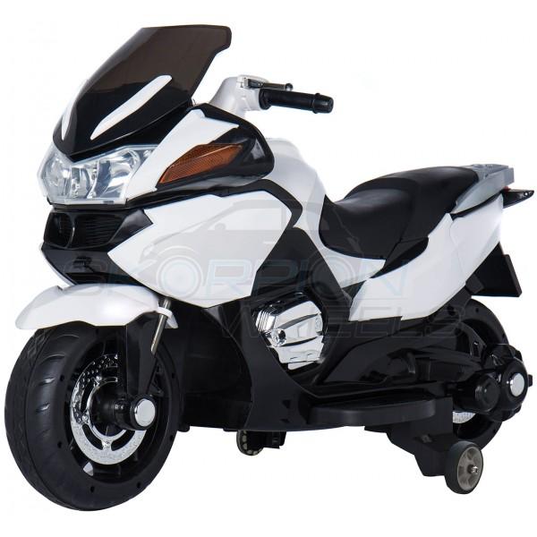 Ηλεκτρικη Μηχανη Τύπου Bmw R1200 RT 12V Skorpion Λευκή - 5245018
