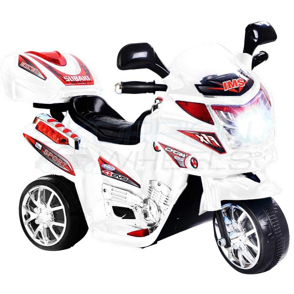 Ηλεκτρικη Μηχανη 6V Skorpion Wheels Λευκή - 5245020