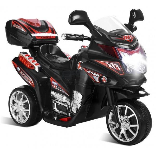 Ηλεκτρικη Μηχανη 6V Skorpion Wheels Μαύρη - 5245020