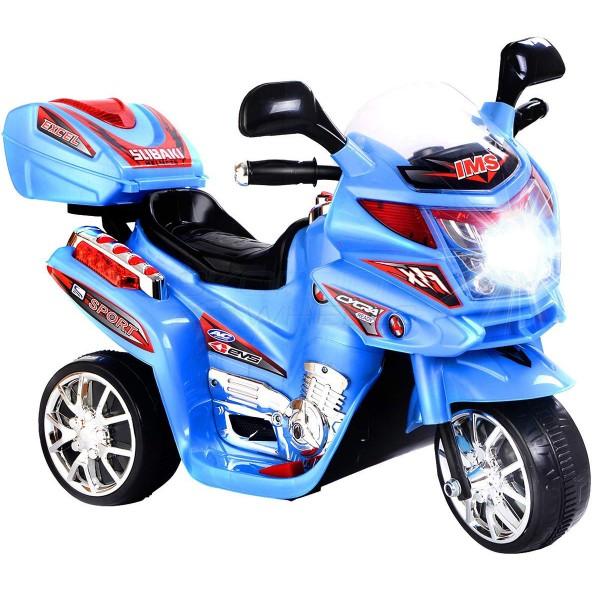 Ηλεκτρικη Μηχανη 6V Skorpion Wheels Γαλάζια - 5245020