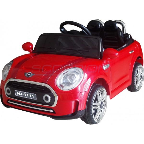 Παιδικό Αμάξι Τυπου Mini Cooper 12V Skorpion Κόκκινο - 5246011