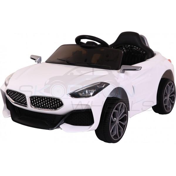Παιδικό Αμάξι Bmw Z4 Τύπου 12V Skorpion Wheels Λευκό - 5246040