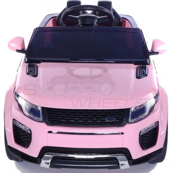 Παιδικό Αμάξι Τυπου Land Rover 12V Skorpion Ροζ - 5246044