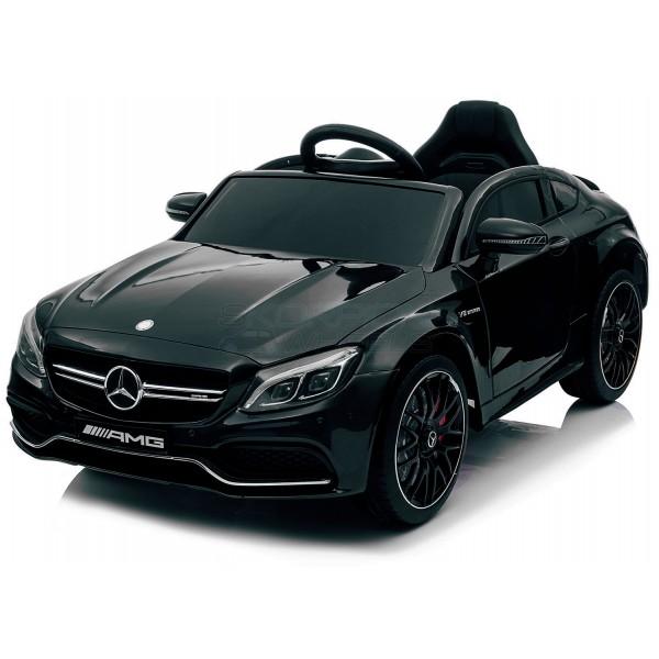 Παιδικό Αμαξι Mercedes C63 Amg 12V Skorpion Μαύρο - 5246063