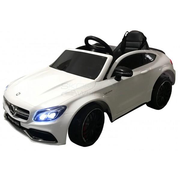 Παιδικό Αμαξι Mercedes C63 Amg 12V Skorpion Λευκό - 5246063