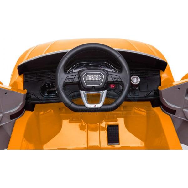 Παιδικό Αμάξι Αυθεντικό Audi Q8 12V Skorpion Wheels Κιτρινο - 52460661