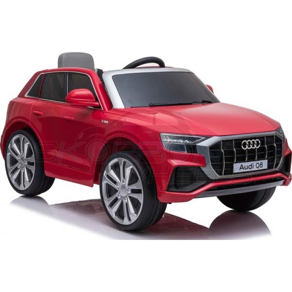 Παιδικό Αμάξι Αυθεντικό Audi Q8 12V Skorpion Wheels Κοκκινο - 52460661
