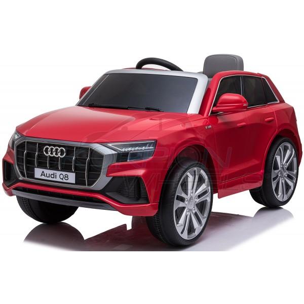Παιδικό Αμάξι Αυθεντικό Audi Q8 12V Skorpion Wheels Κόκκινο - 5246066