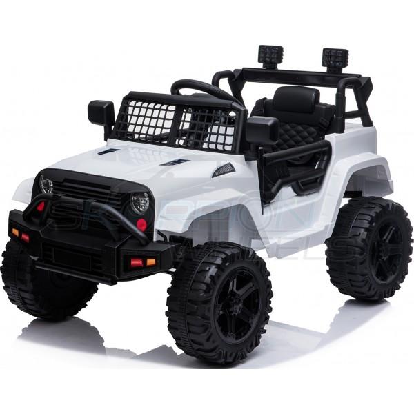 Παιδικό Αμάξι Τύπου Jeep Wrangler 12V Skorpion Λευκό - 5246091