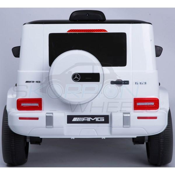 Παιδικό Αμάξι Mercedes G63 Amg 12V Skorpion Λευκό - 5247036