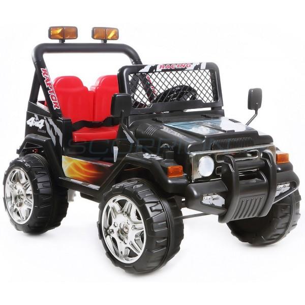 Παιδικό Αμαξι Τύπου Jeep Wrangler 12V Skorpion Μαύρο - 5247061