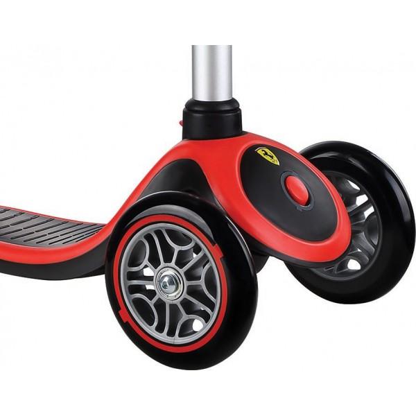 Globber Παιδικό Scooter Primo Plus Ferrari Κόκκινο 440-152