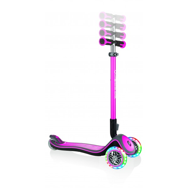 Globber scooter elite deluxe deep pink - 444-410