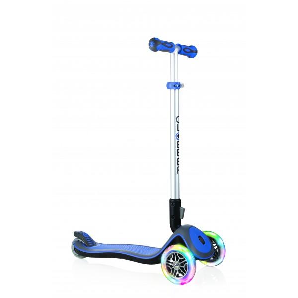 Globber Παιδικό Scooter Elite Flash Light Wheel Μπλε 445-100
