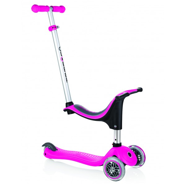 Globber scooter evo 4 In 1 deep pink - 451-110