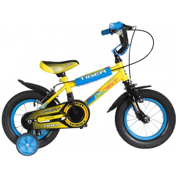 """Ποδήλατο Orient Tiger 12"""" Κίτρινο - 151002"""